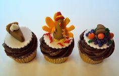 thanksgiving cupcakes!