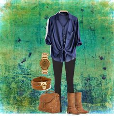 """Blue"" by rpoppe on Polyvore"