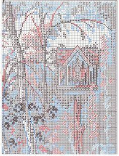 Схема вышивки Врата влюбленных (Dimensions) 2 из 4