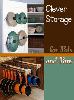 Clever Storage for Pots and Pans