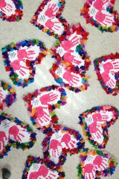 75 Exciting Valentine's Day Party Ideas for Kids - Decor, Craft Project, Games, Treats, Gifts & More! - Hike n Dip Mothers Day Crafts For Kids, Valentine's Day Crafts For Kids, Valentine Crafts For Kids, Mothers Day Cards, Holiday Crafts, Valentines Crafts For Kindergarten, Grandparents Day Crafts, Valentines Day Activities, Valentines Day Party