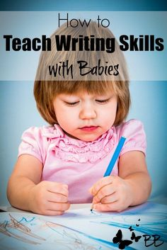 Encourage babies to write by investing in writing tools, talking about writing, and giving a child writing autonomy. Heap on the praise for tiny authors!