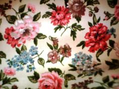 Waverly 'Quaker Lady'  floral fabric  - would love a dress made of this