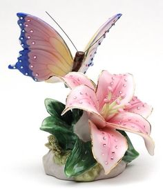 Love this Lily & Butterfly Musical Figurine on #zulily! #zulilyfinds