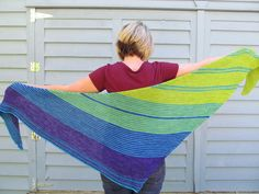 Drachenfels shawl in 3 colors