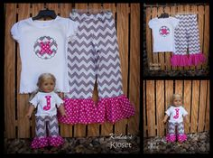 Girl's Appliqued Shirt with Riley Blake's Medium by KinleasKloset, $38.50