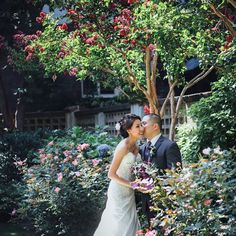Wedding Kisses. #weddingkisses #weddingday #blushingbride #handsomegroom #ontheirweddingday #mrandmrs #ollistudio #nycweddingphotography #awardwinning #photojournalistic #bride #groom