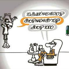 Que has hecho? #Viñeta #Humor