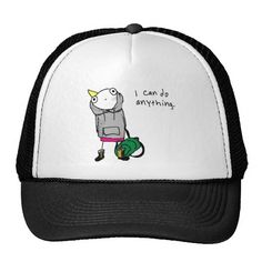 I can do anything. trucker hats http://www.zazzle.com/i_can_do_anything_trucker_hats-148776568834123189?rf=238675983783752015