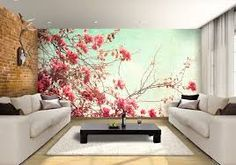 tree paintings on walls - Google Search