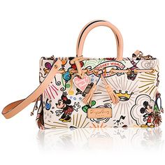 Disney Sketch Tassel Tote By Dooney and Bourke My Favorite! Dooney And Bourke Disney, Disney Dooney, Dooney Bourke, Disney Princess Fashion, Disney Purse, Disney Couture, Disney Sketches, Disney Merchandise, Purses And Bags