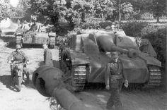 StuG III column
