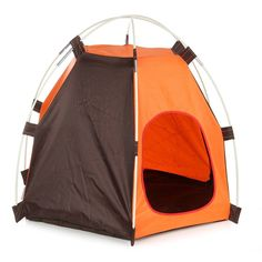 Pet Dog Cat Floding Sun Beach Tent Convenient Oxford Folding House Indoor Outdoor Waterproof Tent Bed Crate Pet Products