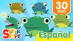 Cinco Ranitas Con Manchitas Y Más Canciones Infantiles   Música Para Niños - YouTube