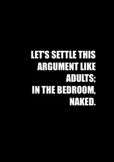 Love to argue with you...