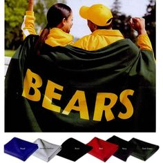 Custom Stadium Blankets | School Spirit Store, School Booster Club Spirit Items, Custom Design School Spirit Products, School Pep Rally Products
