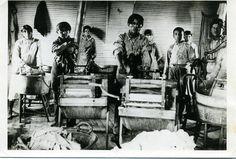 Caddo children at the Riverside Indian School - 1901