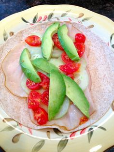 Avocado, Turkey & Hummus Veggie Wrap Recipe #ILoveAvocados