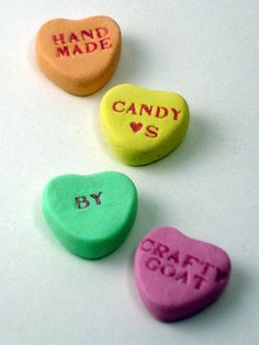 how to make candy hearts!