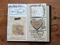 besottment.com traveler's notebook art journal