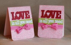 All you need is love...Kerry's craft blog