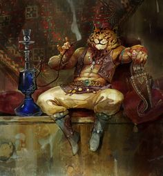 Rakshasa, Svetoslav Petrov on ArtStation at https://www.artstation.com/artwork/rakshasa-7e96d36a-29b5-4987-b407-47b50cb6160c