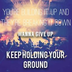 Sound of change is SUCH a powerful song. its time for soME CHANGE around here in little Boise Idaho.