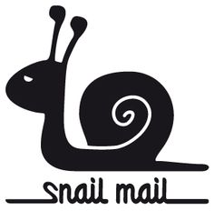 Snail Mail! (#design made by Studio Formo) @Aline Hubregtse Hubregtse Hubregtse