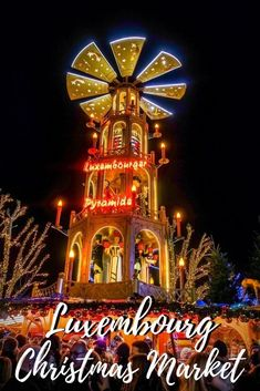 The Christmas market in Luxembourg City is a festival of lights, decorations, and great food. See all the fun things to do at the market and around the city.