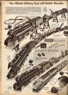 1950s Marx Electric Train Sets