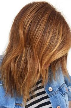 Image result for copper and blonde balayage