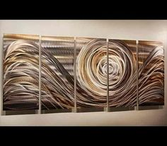 Spiral of Emotions 2 Abstract Wall Art by Jon Allen