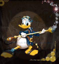 Steampunk Donald by Michael Cole [©2014]