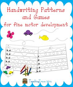Handwriting Games - Handwriting Patterns