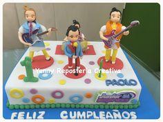 Torta Cumpleaños Motivo Junior Express