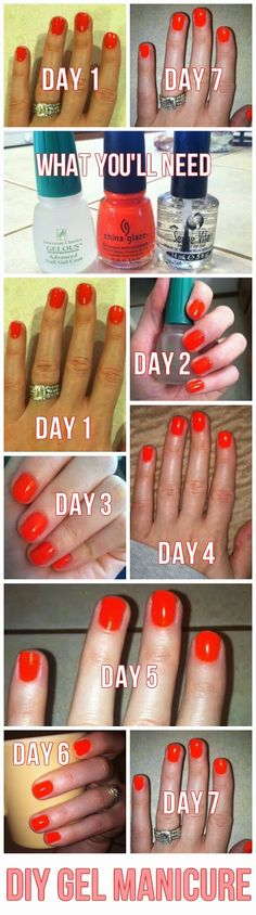 DIY Gel Manicure. Obv this makes sense.