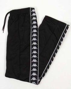 Robe-Di-Kappa-Banda-Track-Bottoms-in-Black-retro-taping-90s-track-pants