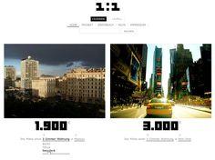 """Website Konzept 1:1 """"Eins zu eins"""" präsentiert Zahlen über die Welt auf eine plakative Art und Weise. Die Zahlenwelt von """"eins zu eins"""" zeigt über Vergleiche interessante Verknüpfungen. Dadurch entwickeln sich aufregende Geschichten und neue Erkenntnisse. Es entsteht viel Interessantes, Überraschendes, Amüsantes und Ernstes. Es werden gemischte Zahlen aus aller Welt eins zu eins miteinander verknüpft und einander gegenübergestellt."""
