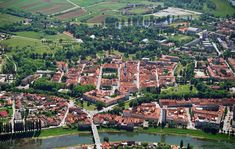 The old city of Karlovac was an important fortress in the Croatian past #CasaBlanca #Zagreb #day #trip #Daytrip #surroundings #offroad #nature #tours #mountain #citybreak #weekenddestination #adventure #hiking #excursion