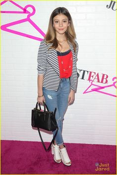 G Hannelius at the JustFab Ready-To-Wear Launch Party
