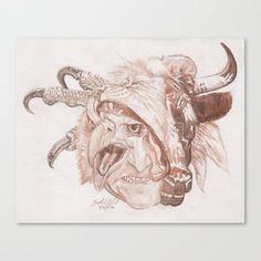 Cherubim Canvas Print by josephsilver Bible Tattoos, Cherub Tattoo, Christ Tattoo, Revelation Bible, Yarn Painting, Hand Tats, Jesus Faith, Angel Aesthetic, Canvas Prints