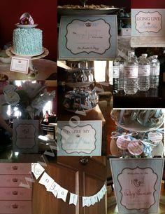 high tea Baby Shower Party Ideas | Photo 3 of 12