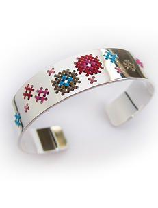 borduur armband zilver sieraden