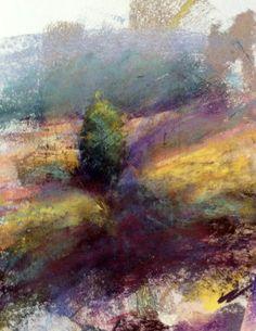 pastel landscape by Bob Borrell