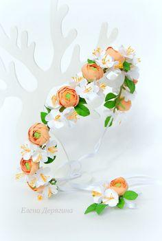 Wreaths and headbands for hair - 72 photos | VK