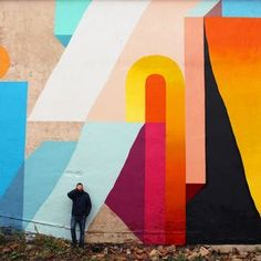 We are always found to see something very different from what we are used to seeing in the world of graffiti. And when French street artist and abstract painter Nelio is creator of these spectacula