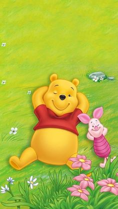 Wallpaper iphone quotes friends winnie the pooh 70 ideas Disney Winnie The Pooh, Winnie The Pooh Pictures, Winnie The Pooh Friends, Disney Phone Wallpaper, Neon Wallpaper, Iphone Wallpaper, Mini The Pooh, Anenome Flower, Tom And Jerry Pictures