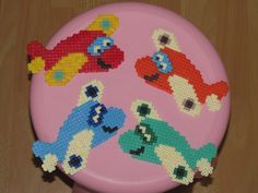 Planes hama perler beads by Axelle