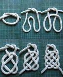 Приемы плетения узлов