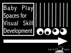 Baby flashback-play spaces for visual development